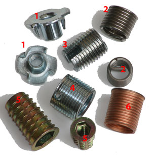 machine inserts for wood